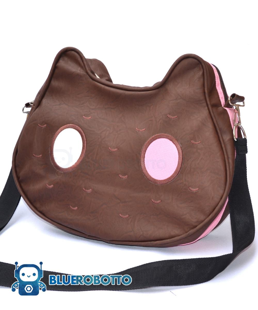 ced9d71945c Cookie Cat messenger bag | Blue Robotto