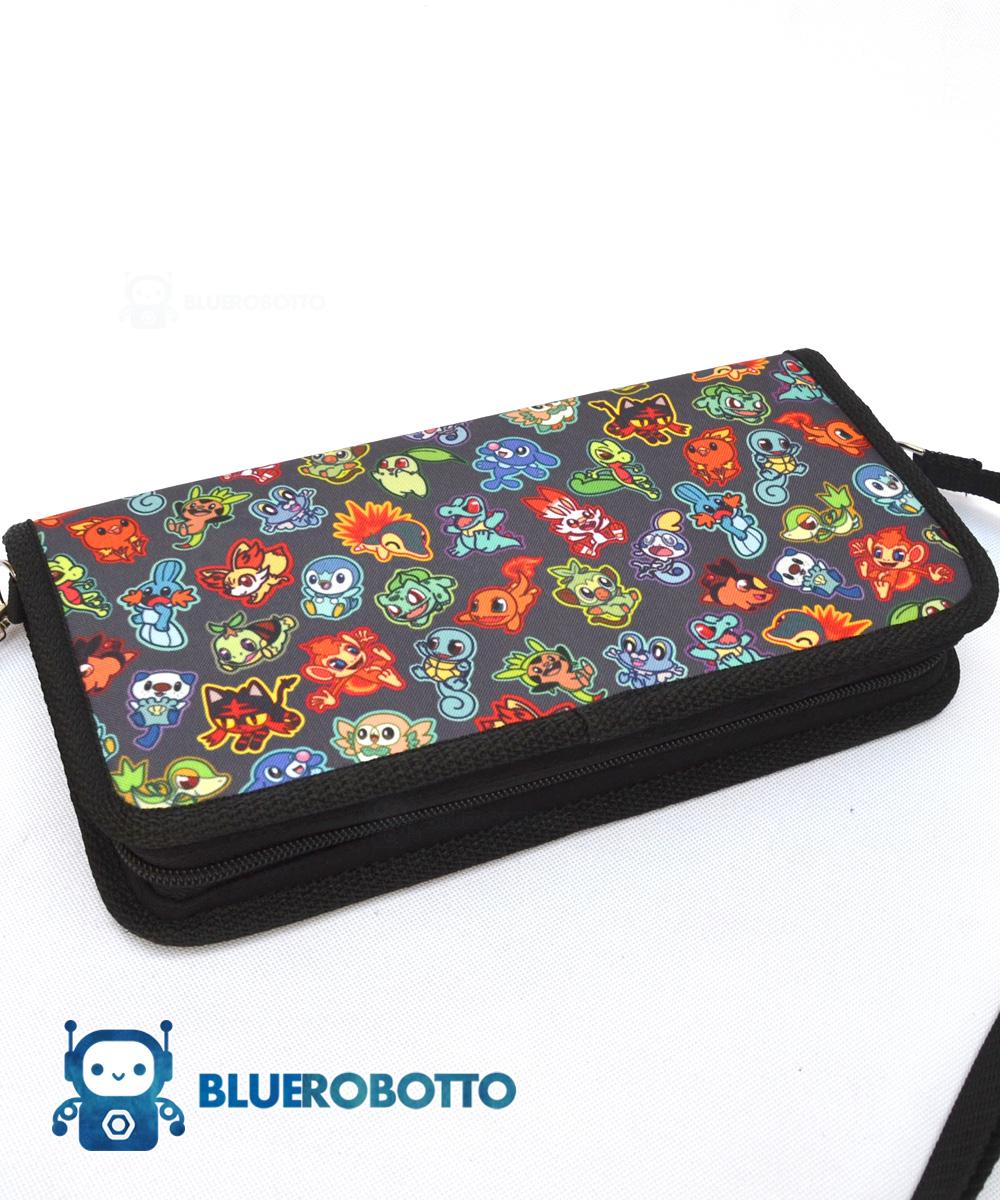 Poke Starters – Nintendo Switch case | Blue Robotto